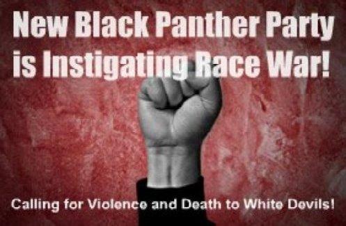 Panthers Call For Violent Revolution Race War Bloodshed